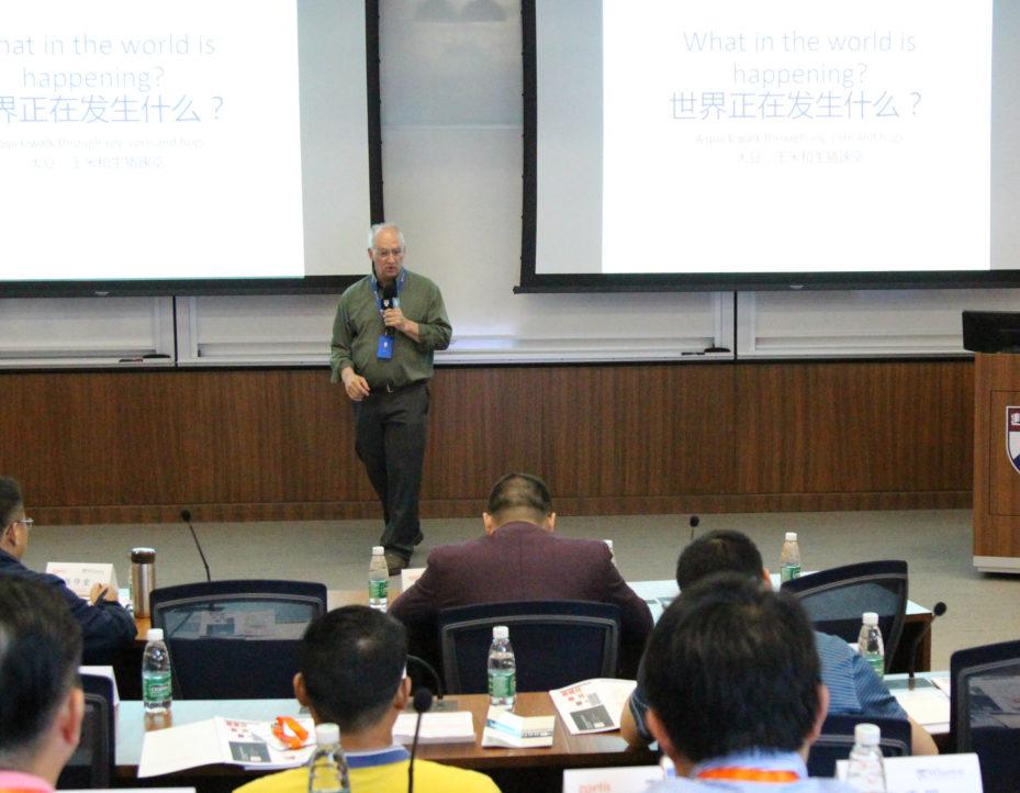Thomas Parsons, professor of swine production medicine at the Penn School of Veterinary Medicine