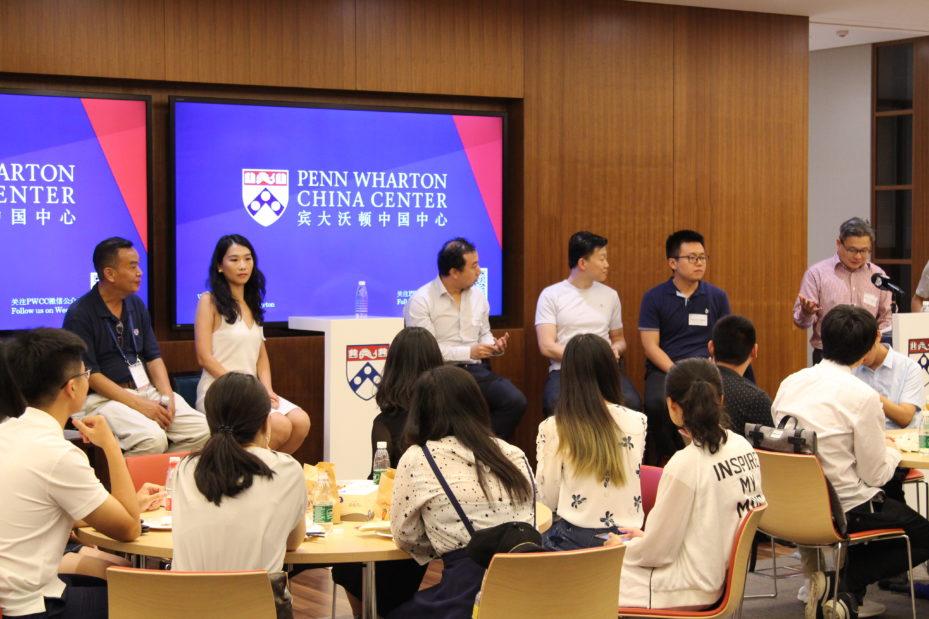 From left to right: Gary Zhao, Jiusi Yao, Xin Yang, Marshall Yang, Xiaojun Liang